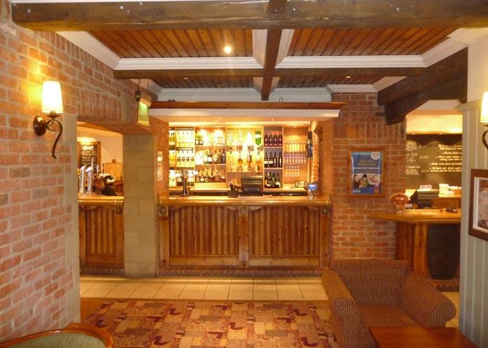 pub bar