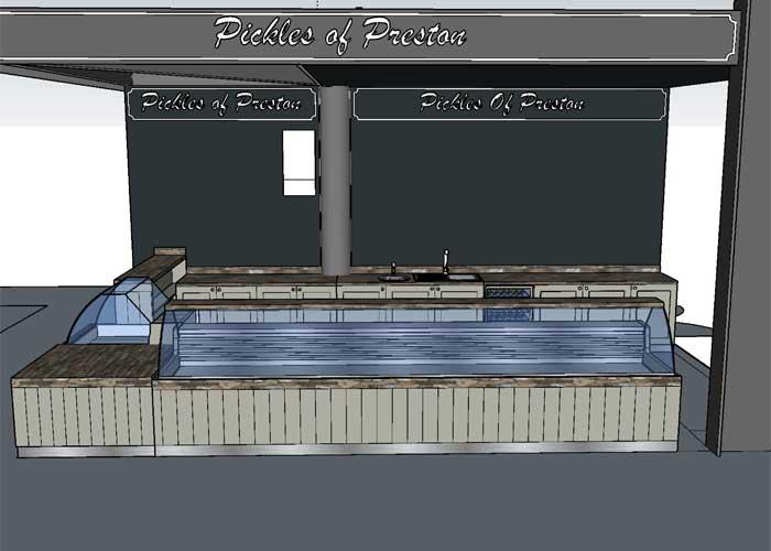 market stall concept