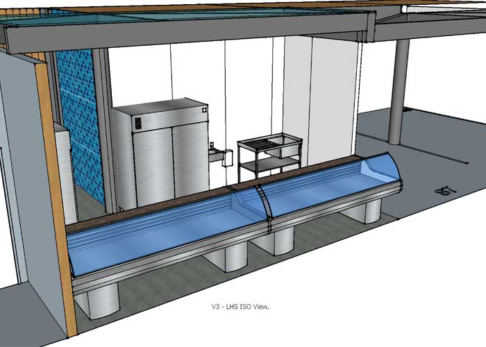 CAD Concept for market stall