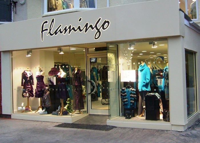shop fitters external project flamingo shop front