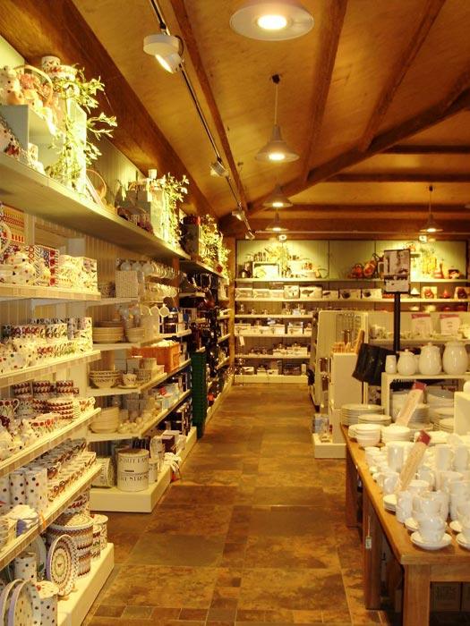 gift shop shelving units