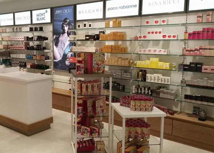 perfume counter display units