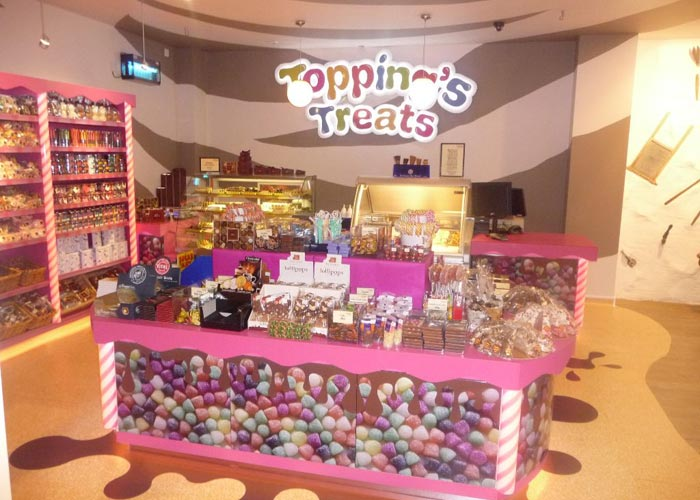 toppings treats display units