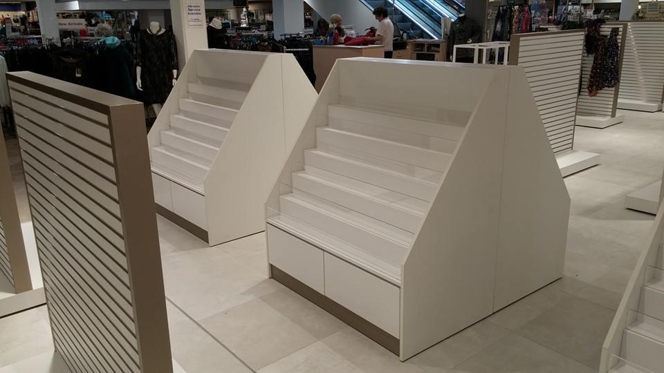 product display units