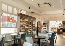 Gift shop and coffee shop fit out