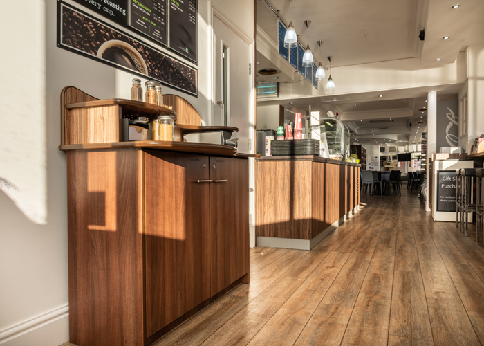 Gift shop and Cafe fit out