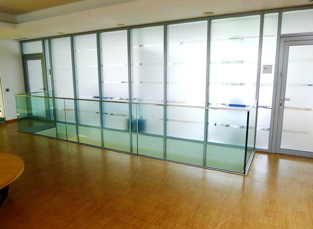 fire rated glass partition walls