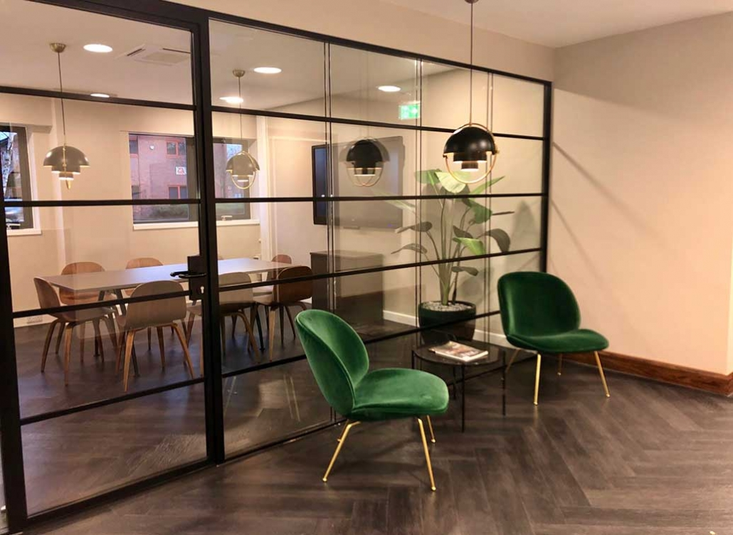 boardroom and waiting room