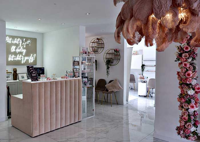 beauty salon design